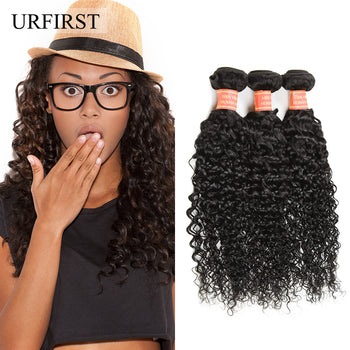 Unprocessed Peruvian Curly Virgin Human Hair Weave 3pcs/Lot