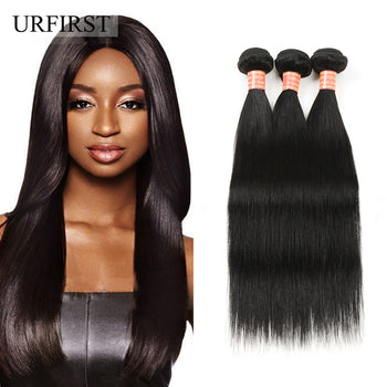 Indian Straight Virgin Human Hair 3 Bundles