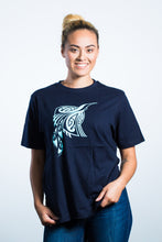 Womens T-Shirt Navy Blue