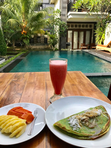 Mayella Travel Blog Recharge Mind Body Soul Bali Style Breakfast