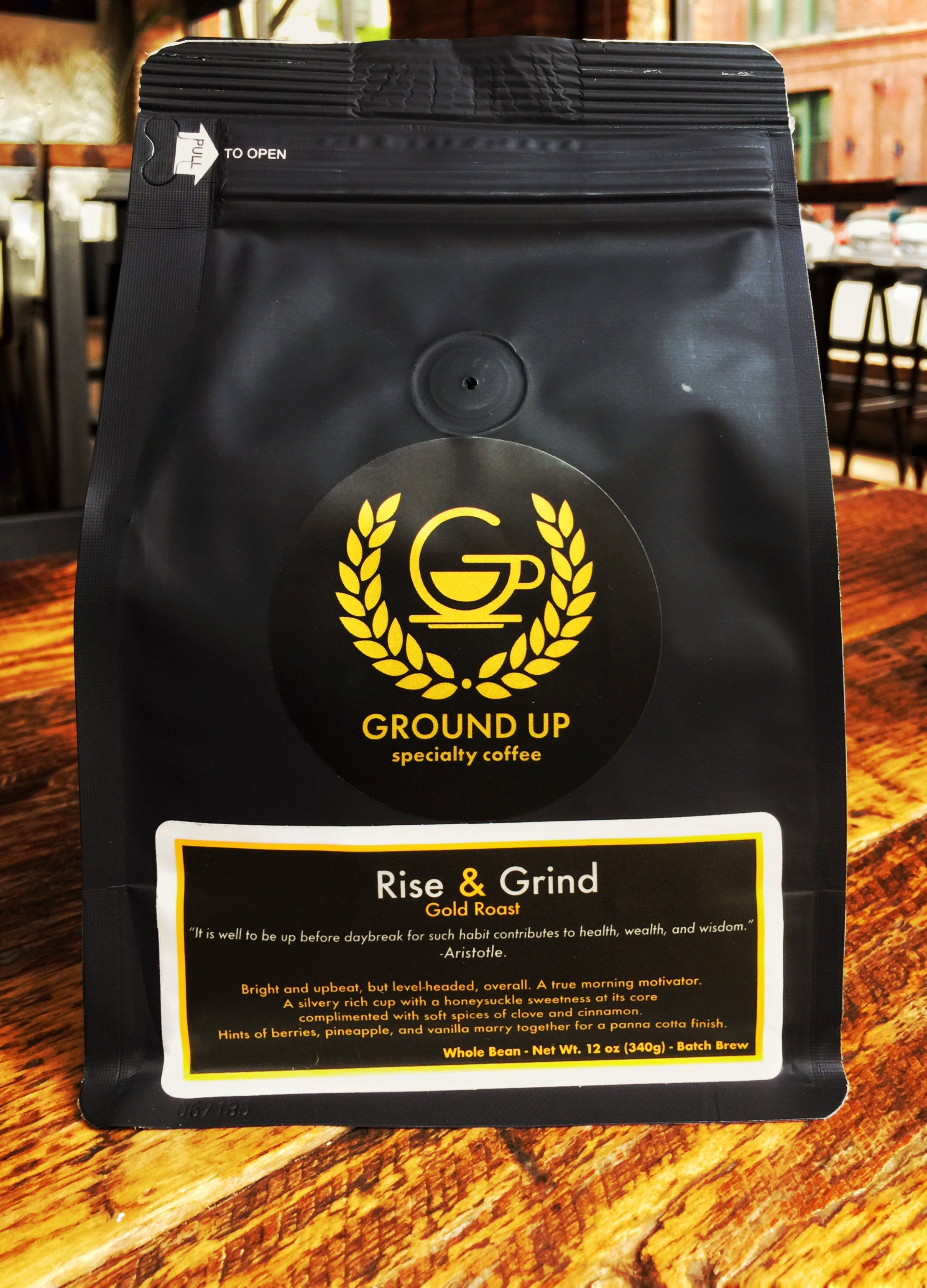 Rise & Grind - Gold Roast - Batch Brewed Coffee