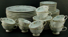 FRANCONIA Krautheim china MILLEFLEURS pattern 60-pc SET Service for 12