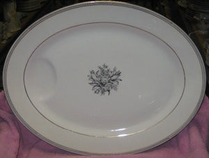 HAVILAND New York china GREEK KEY pattern Lg PLATTER