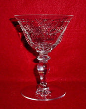 HAWKES Crystal AVALON pattern CHAMPAGNE / SHERBET Glass