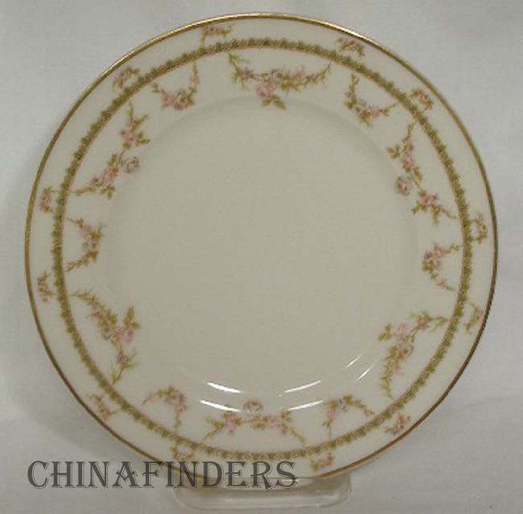 HAVILAND Limoges china SCHLEIGER 883 pattern Salad Plate @ 7-1/2