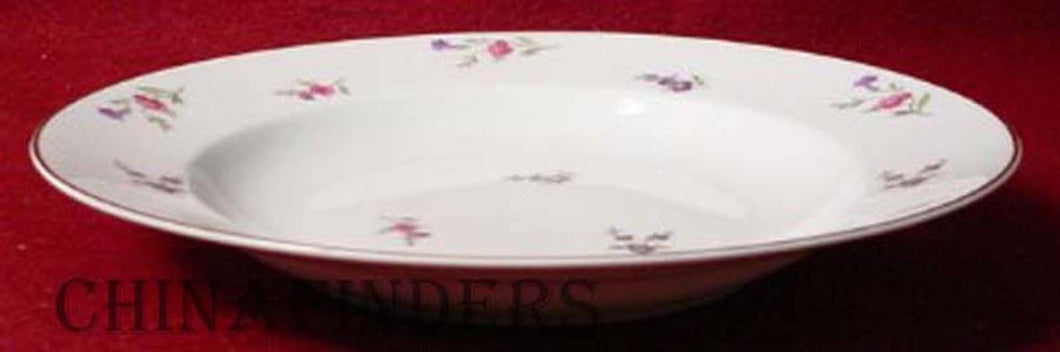 HEINRICH/H & C china VICTORIA (Christine) pattern Soup/Salad/Pasta Bowl @ 9-1/2
