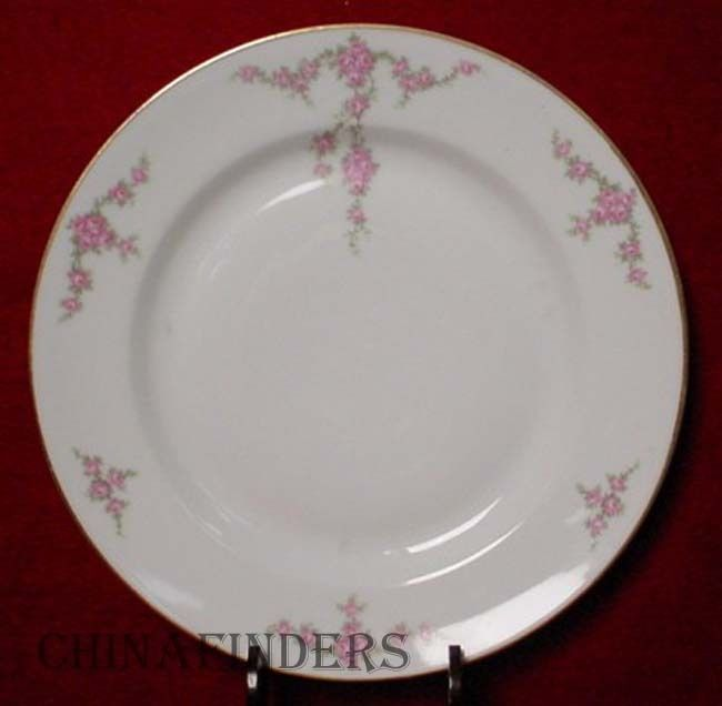 HEINRICH & Co.china ROSALINDA Dinner Plate 9 3/4