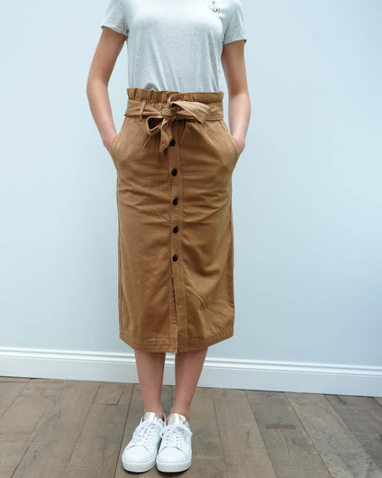 AB 153279 High waisted skirt in sand
