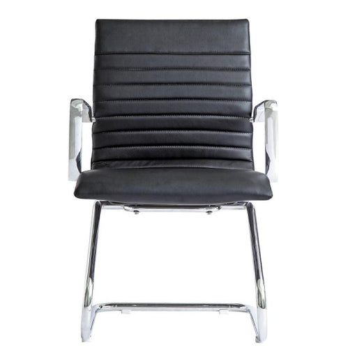 Chair - Zatto | Visitor Chair | Black Leather