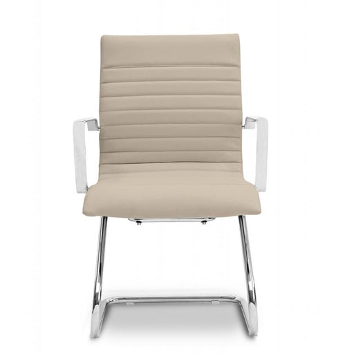 Chair - Zatto | Visitor Chair | Sand Leather