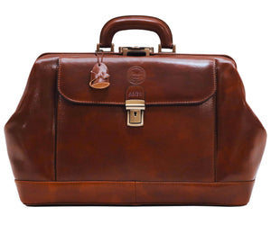 Personalize your Cenzo Leather Doctor Briefcase