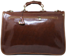 Cenzo Italian Leather Briefcase Messenger Bag 7