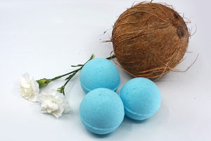 Blue Caribbean Bath Bomb Sets