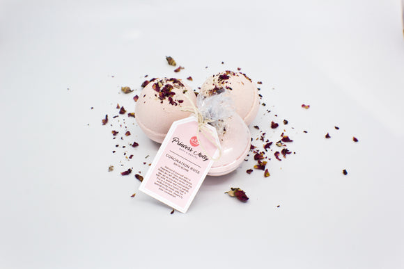 Coronation Rose Bath Bomb Set