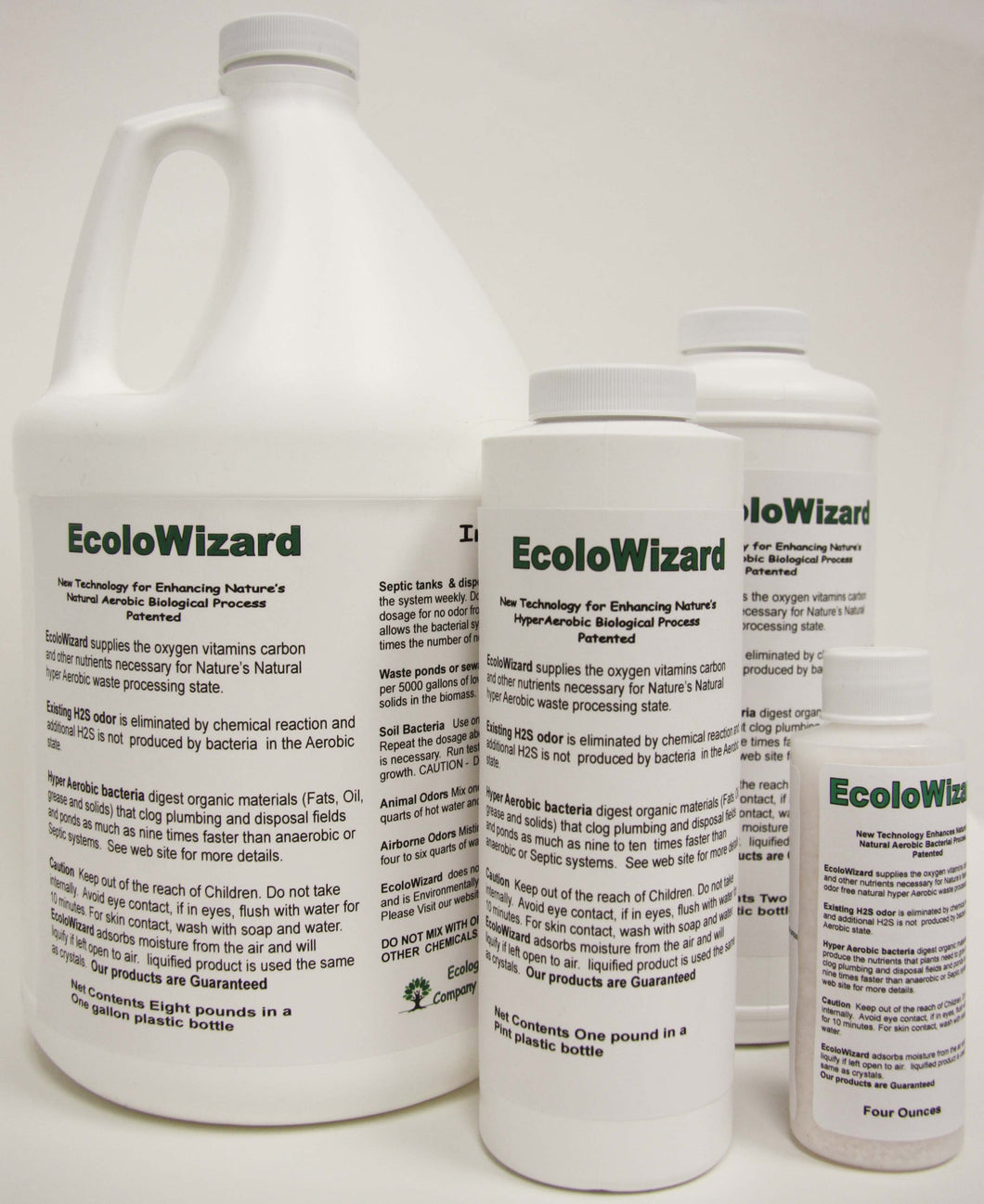 EcoloWizard - 8oz Sample Size Dry Product
