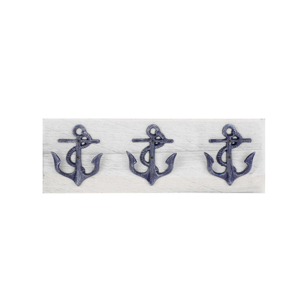 3 blue metal anchor hooks *** Only one left!! ***