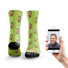 Worlds Okayest Brother-In-Law Socks