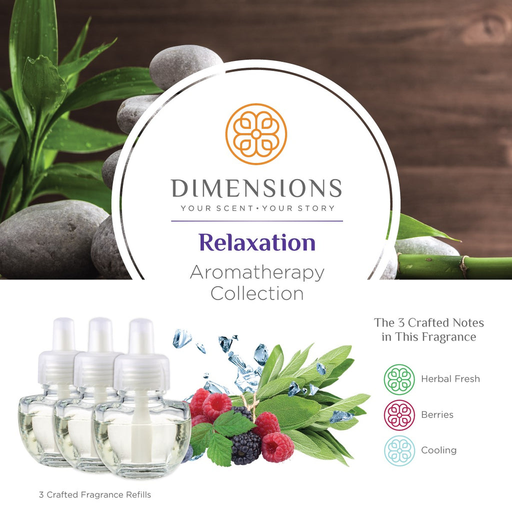 Relaxation Collection - Fragrance Plug-in Refills