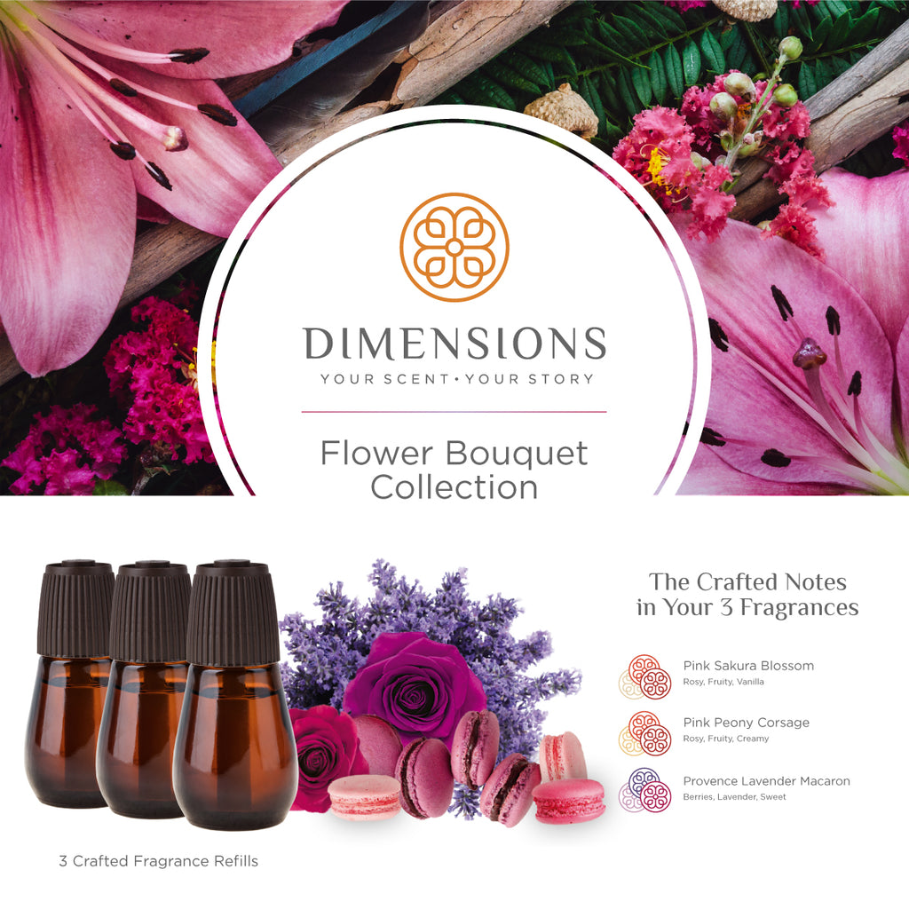 Flower Bouquet Collection - Diffuser Refills