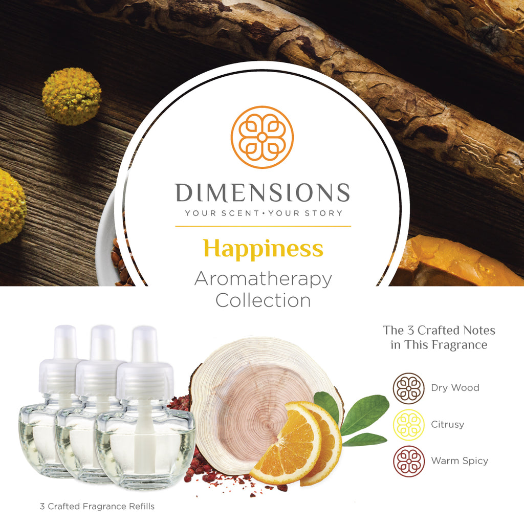 Happiness Collection - Fragrance Plug-in Refills