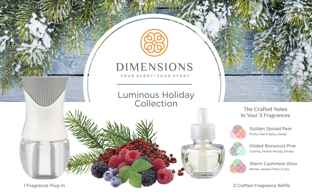 Luminous Holiday Collection with Fragrance Plug-in