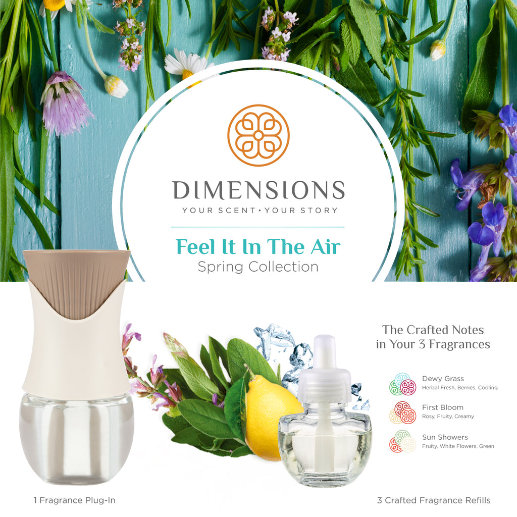 Feel It In The Air Spring Collection with Fragrance Plug-in