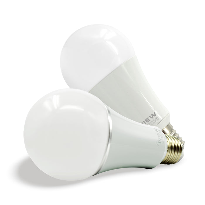 Iview ISB600-2 smart multicolor dimmable Wi-Fi dual-pack light bulb