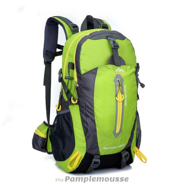 40L Waterproof Trekking Backpack Mountain Sports Bag Camping Cycling Hiking Ski Backpack - Green - Free Shipping - Outdoor - Outdoor -