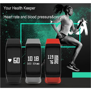 Best Fitness Tracker Smart Activity Tracker Band Blood Oxygen Blood Pressure Smartwatch Fitness Sport Bracelet - Free Shipping - Electronics