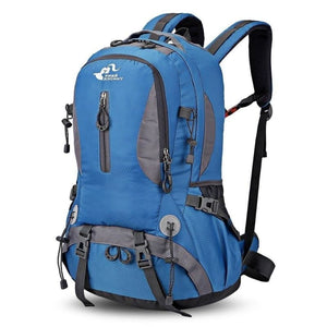 Lightweight 30L Waterproof Outdoor Camping Hiking Mountaineering Backpack Trekking Climbing Sport Travel Bag - Blue - Free Shipping -