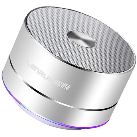 Lightweight Mini Portable Wireless Bluetooth Stereo Speaker - Smart Subwoofer - Silver - Free Shipping - Electronics - $24.90 | The
