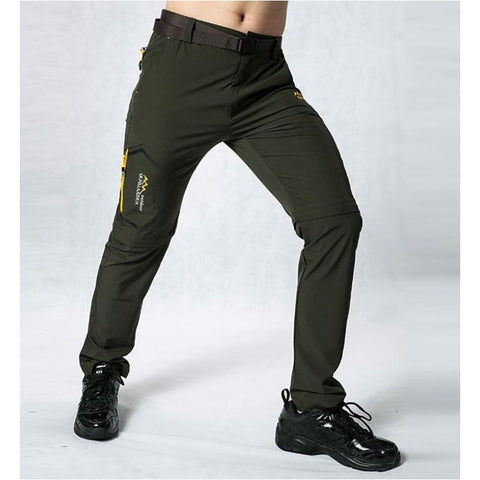 Men Quick Dry Trekking Pants Outdoor Male Hiking Removable Trousers Pants Shorts - Free Shipping - Outdoor - Outdoor - $28.00 | The