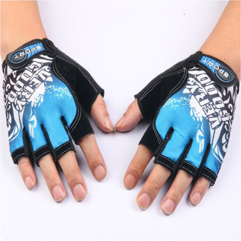 Mountain Bike Cycling Gloves Outdoor & Sports Half Finger Gloves - Free Shipping - Sports - Accessories - $9.00 | The Pamplemousse