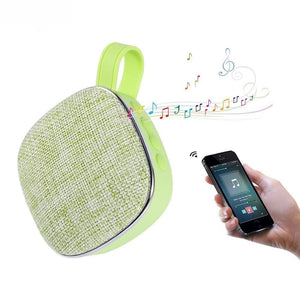 Outdoor Candy Color Mini Bluetooth Portable Stereo Speaker Handfree Calls Fm Aux Tf - Green - Free Shipping - Electronics - Electronics -