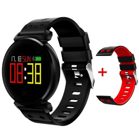 Unisex Bluetooth Smart Watch Ip68 Waterproof Colorful Oled Heart Rate Blood Pressure Monitor Smartwatch For Ios Android - Free Shipping -
