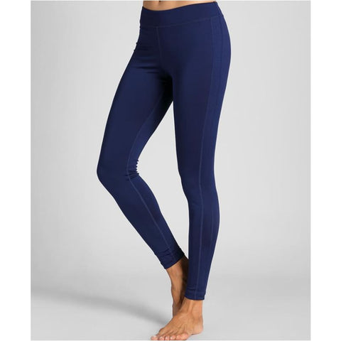 Womens Tights Workout Comfort Flex Running Sports Leggings Pants - Navy Blue / M - Free Shipping - Sports - Clothing - $19.00 | The