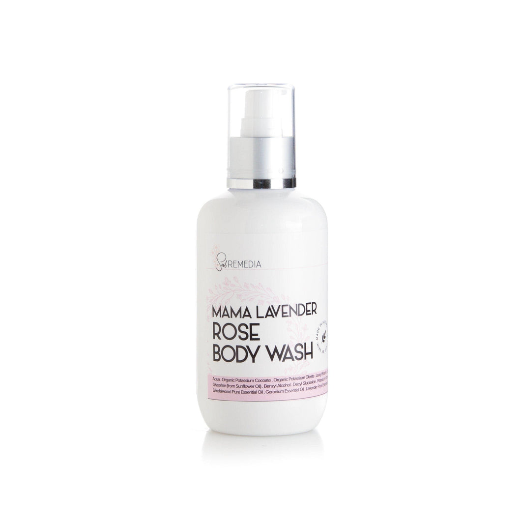 Mama Lavender Rose Body Wash - Sal Remedia