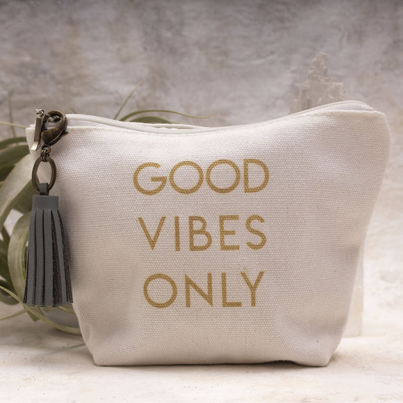 Good Vibes Only Canvas Bag - Amy Margaret
