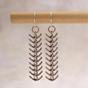 Cobain Fishbone Chain Earring - Amy Margaret