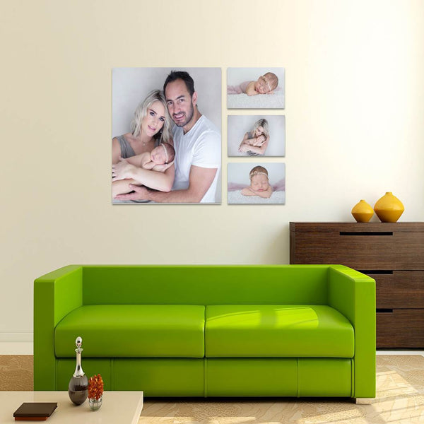 4 Piece Canvas Print Combo Special