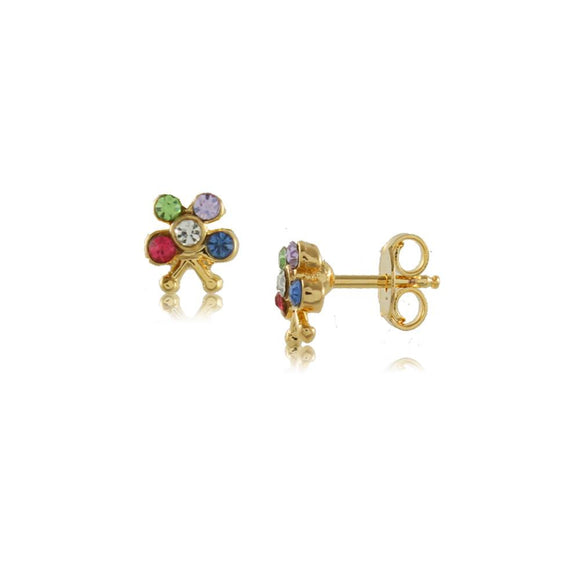 Crystal Butterfly Studs - ijeweled