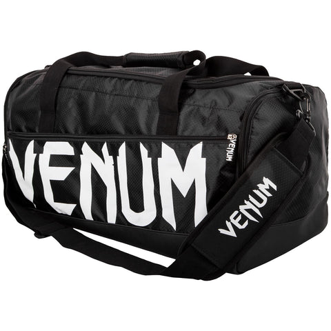 Venum-Sparring Sport Bag - Black/White-1