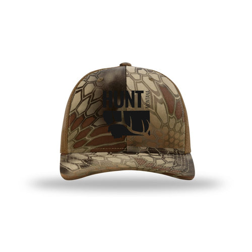 HUNT MONTANA - ELK HUNTING HAT - KRYPTEK HIGHLANDER