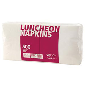 Luncheon Napkin White 1ply