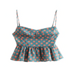 Seeing Spots Frill Crop Top - About Last Night