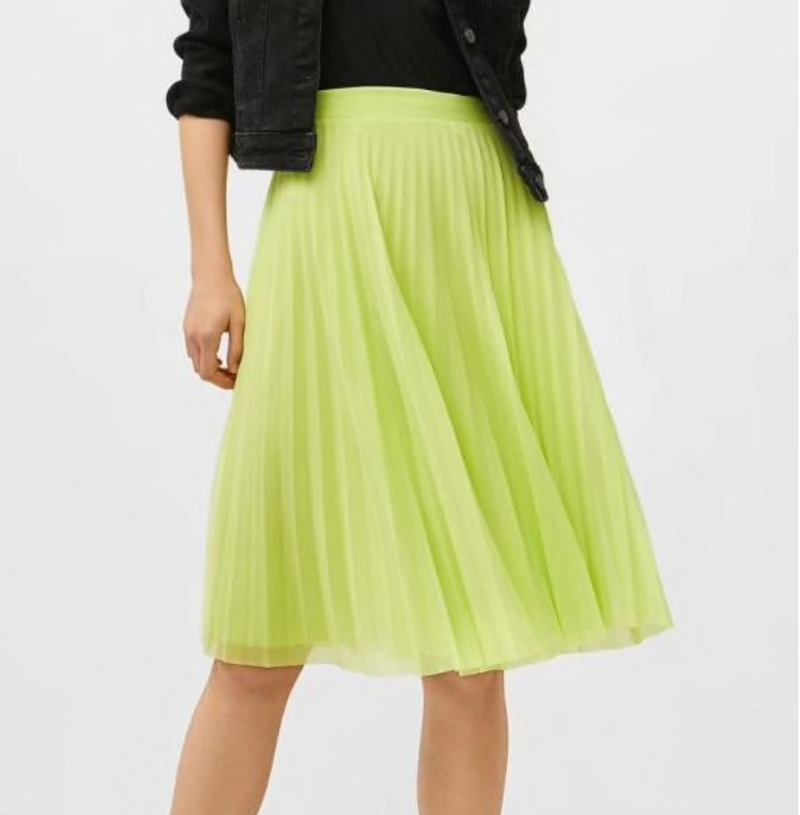 Neon Lights Slip Midi Skirt - About Last Night