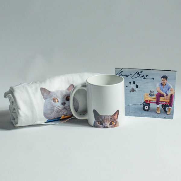 Michael Pocket T-Shirt & Mug Combo