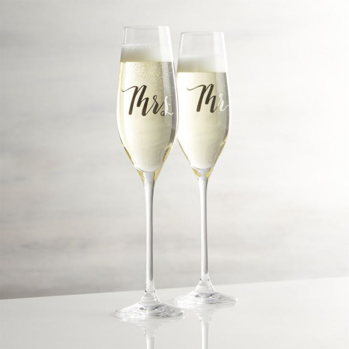 Customize your own Champagne Flute