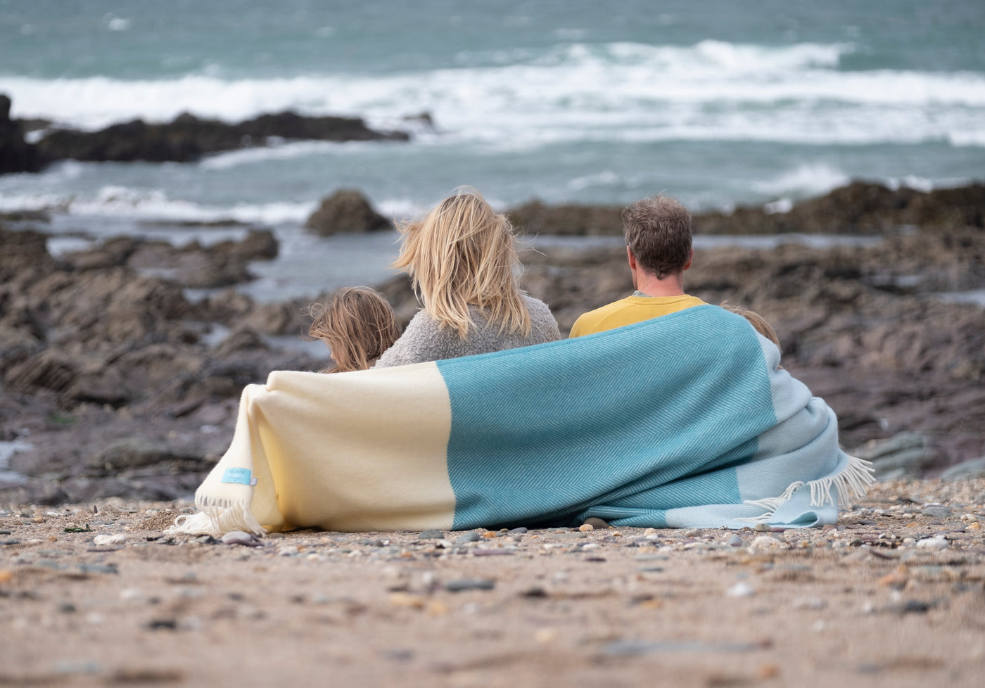 Family business in Cornwall, creating British-made blankets