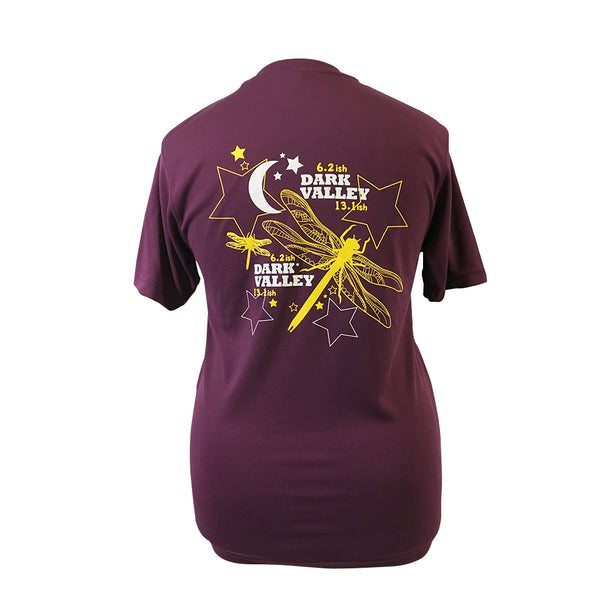 Dark Valley Technical T-shirt Plum